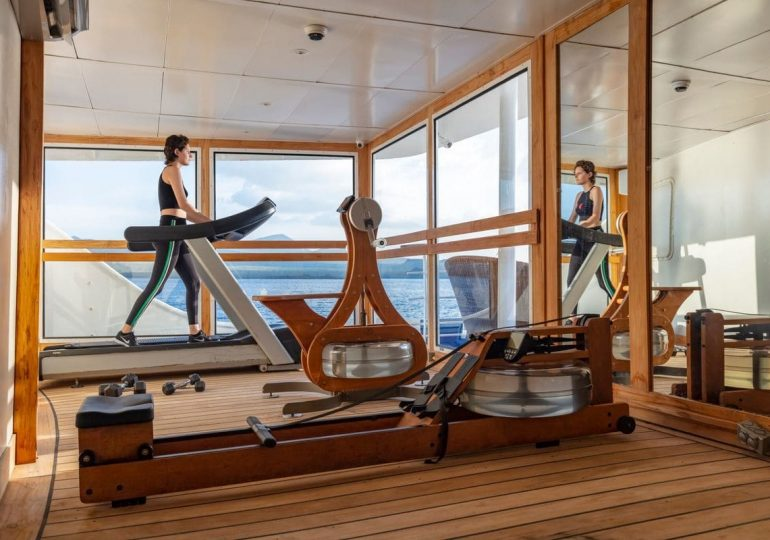Legend Galapagos cruise - Fitness center (earthdeck)