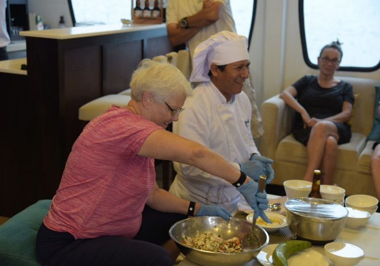 Alya Yacht - Galapagos Luxury Cruise - Cooking Class