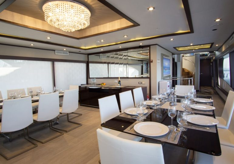 Grand Majestic - First-Class Galapagos Cruise (Dinning Room)